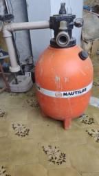 Motor e filtro para piscina nautilus comprar usado  Esteio