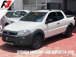 Strada Working CD Cab Dupla 1.4 2014/2015 - 2015