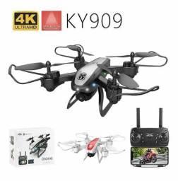 Drone Ky909 Com Câmera 4k Preto