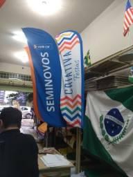 Título do anúncio: Flag Banner ou Wind Banner