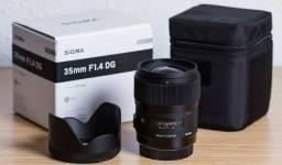 Usado, Lente Sigma 35mm F/1.4 Art. Hsm Dg Para Nikon (obs) lente nova 99373\0549 comprar usado  Manaus