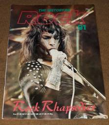Queen Freddie Mercury Bryan Ferry - The History of Rock n. 91