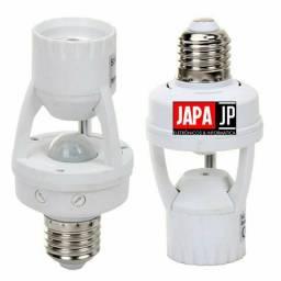Soquete Sensor de Presença infravermelho - Lâmpada Bocal E27 Movimento 360°