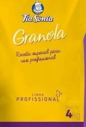 Granola Tia Sônia Mega Pacote 4kg Sem Uva Passas