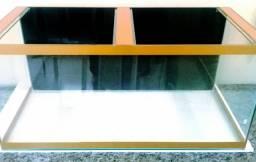 Aquário 87x40x40cm.130 Litros