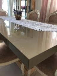 Título do anúncio: Tampo de vidro para mesa