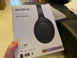 Sony WH-1000XM4, Bluetooth 5, Cancelamento Ruído, NFC, Garantia 1 ano, Zero, Lacrado