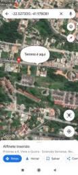 Terreno Extensão Serramar, Rio das Ostras 13x38 494m2