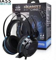 Headset Pc Kp-417 Vibration Knup