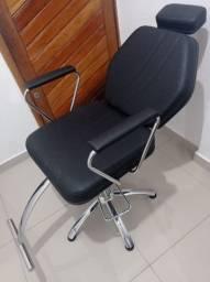 Título do anúncio: Cadeira Hidráulica Reclinável Darus