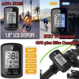 Título do anúncio: Computador de bicicleta GPS XOSS G, velocímetro e odômetro sem fio Bluetooth