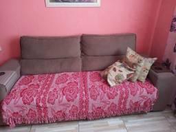 Sofa retratil reclinavel 4 lugares