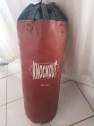 Título do anúncio: SACO DE PANCADA KNOCKOUT 90CM