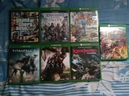Título do anúncio: Jogos Xbox one usados