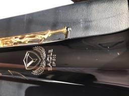 Título do anúncio: Sax soprano Eagle Onix SEMINOVO troco por alto