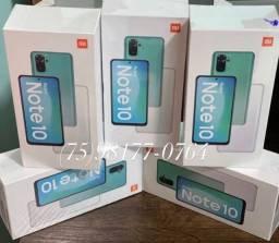 Título do anúncio: Xiaomi Note 10 128gb 6gb ram 48mpx tela 6,43 amoled disponíveis