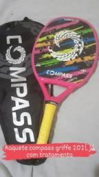 Raquete beach tennis compass