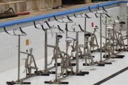 Bike de ginastica aquática -Inox - Semi nova