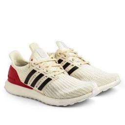 Adidas Ultraboost 4.0 - branco/vermelho
