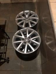 Título do anúncio: Rodas de liga 5 furos Volkswagen