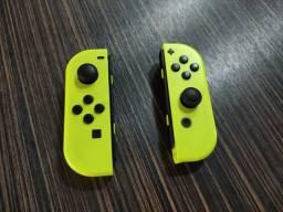Título do anúncio: Controle sem fio Nintendo Switch Joy Amarelo