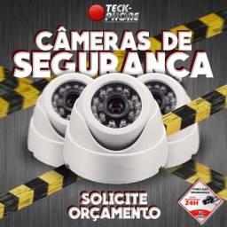 Câmeras de segurança, alarmes e manutenção!