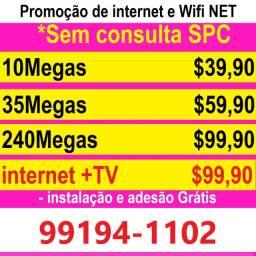 Internet com instalação gratis