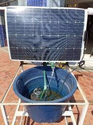 Título do anúncio: Kit solar com bomba e placa solar