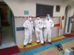 Sanitização $2,99 metro quadrado emitimos certificados