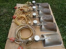Campanulas a gás para pintinhos avimec