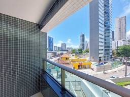 Título do anúncio: Apartamento com 2 quartos para alugar, 41 m² por R$ 2.133/mês com taxas - Boa Viagem - Rec