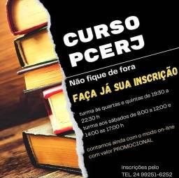 Título do anúncio: Curso Intensivão PCERJ
