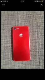 VENDO iPhone 7 red 128gb pra sair rapido