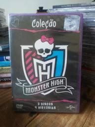 Dvd Coleção Monster High (lacrado) 3dvds