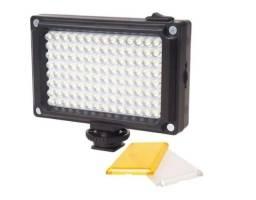 Iluminador Pilha 96 Leds Para Camera Sony Nikon Canon Dsrl