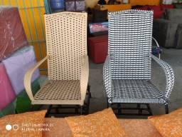 Cadeira de balanço 4 molas