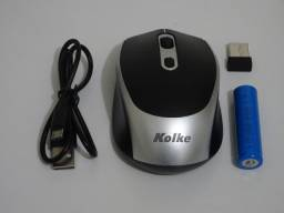 Título do anúncio: Mouse sem fio kolke com bateria recarregável