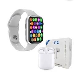 Kit Relogio + Fone  Bluetooth