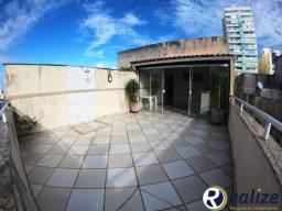Cobertura Duplex de frente para a rua 03 quartos sendo 02 suítes na Praia do Morro