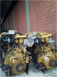 Motor Caterpillar C12 com reversor - Uso naval