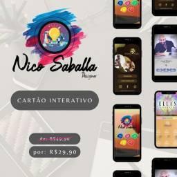 Título do anúncio: Cartão Interativo - Identidade Visual