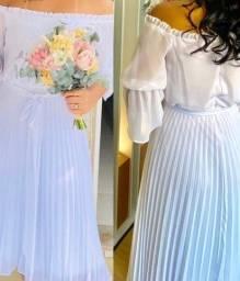 Título do anúncio: Vestido pra casamento!