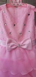 Vestido de festa infantil tamanho 6