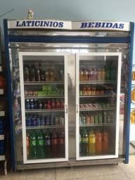Refrigerador de laticínios e bebidas valor R$2.000