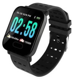 Smartwatch Relógio Inteligente Whatsapp Notifações e Redes Sociais Novo na Caixa