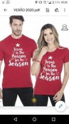 Camisetas Casal Vermelha