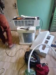 Ls refrigeração zap * instalação d split, concerto d máquina d lavar, geladeira