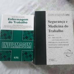 Diversos livros de enfermagem