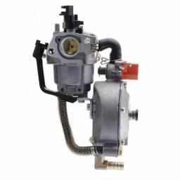 Carburador a gás para gerador a gasolina