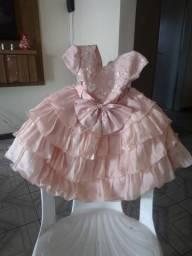 Vestido de festa infantil 03 anos